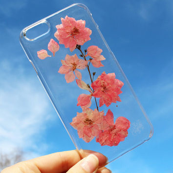 LIMITED-Tanacrafts Phone Case-Pressed Flower Case Real dried flowers phone case for iPhone 7 7Plus & iPhone se 5s 6 6 Plus