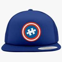 Autism Awareness Foam Trucker Hat