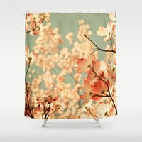 Pink Shower Curtain by Olivia Joy StClaire