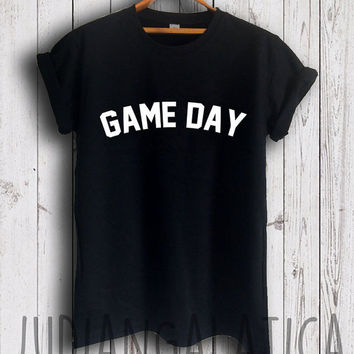 game day shirt baseball shirt football tshirt soccer mom shirt unisex size
