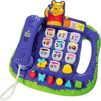 Vtech - Winnie the Pooh Teach 'n Lights Phone