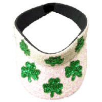 St. Patrick's Day Irish Sequin Visor