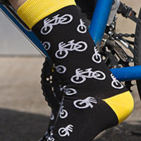 Socks by Sock Dreams » Sock It To Me Mid Calf Bikes