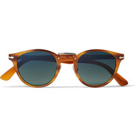 Persol - Round-Frame Polarised Acetate Sunglasses | MR PORTER