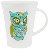 Owl With Diamond Body Coffee Mug
