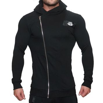 Mens Outdoor Hooded Jackets Running Sweatshirt