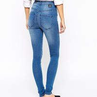 Dr Denim Solitaire High Waist Super Skinny Jeans