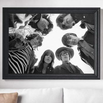 Jefferson Airplane Poster Woodstock Art Painting