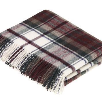 Tartan - Merino Lambswool -  Dress MacDuff - Throw Blanket