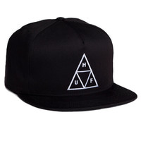 HUF - TRIPLE TRIANGLE SNAPBACK SP14 // BLACK