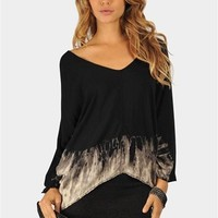 Smoke And Mirrors Tunic - Black at Necessary Clothing