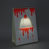 Page Lamp Poster USB LED Table Desk Mood Light