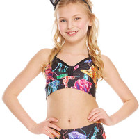 Girls Electric Animals Bandeau Halter