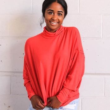 Free People Alameda Pullover - Cherry