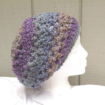 Slouchy beanie - Crochet hat - Womens slouchy hat - Womens hats - Teens accessories