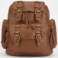 Under One Sky Joiee Two-In-One Backpack/Crossbody Bag Cognac One Size For Women 25474540901