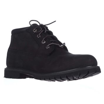 Timberland Nellie Waterproof Ankle Boots, Black, 7 US / 38 EU