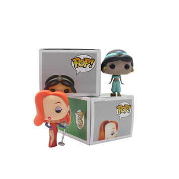 Funko Pop Who Framed Roger Rabbit Jessica Rabbit Jasmine Action Vinyl Figure Dolls