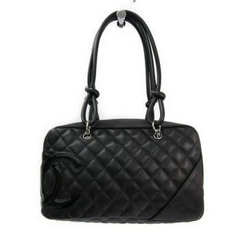 Chanel Cambon Line A25171 Bowling Bag Women's Cambon Ligne Shoulder Bag BF311091