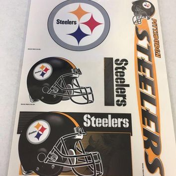 ONETOW BRAND NEW PITTSBURGH STEELERS WINDOW CLINGS SHIPPING