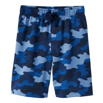 Jumping Beans Knit Camo Shorts - Boys 4-7x, Size: