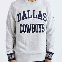 Mitchell & Ness Dallas Cowboys Team Sweatshirt- Grey