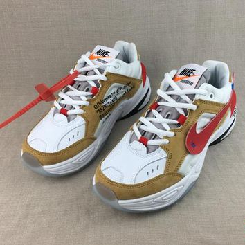 HCXX 19Aug 166 Off-White x Nike Air Monarch the M2K Tekno AO3108-200 Retro Sneakers Men Women Running Shoes
