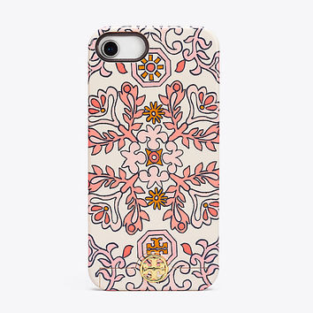 Tory Burch Hicks Garden Sliding Mirror Case For Iphone 8
