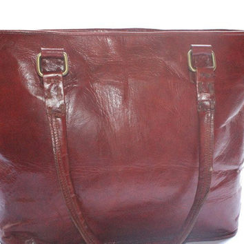 Women's Leather DISTRESSED LEATHER WOMEN'S TOTE