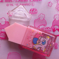 Kawaii vintage 1988  LITTLE TWIN STARS Sanrio eraser