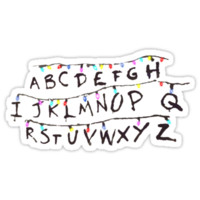 'Stranger Things' Sticker by raphaelazz