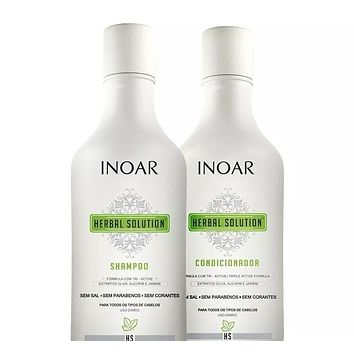 Inoar Herbal Solution - Kit 250ml(8.45fl.oz)