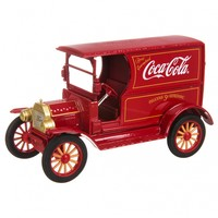 Coca-Cola 1917 Ford Model T Red 1:24 Scale Diecast Model