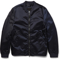 Acne Studios - Selo Light Satin-Finish Shell Bomber Jacket | MR PORTER