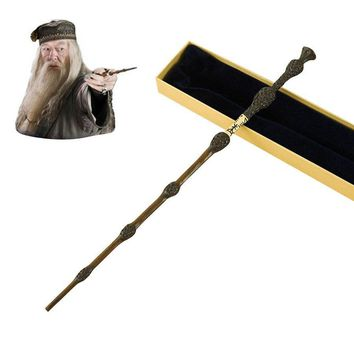 Cool Metal Core Albus Dumbledore Magic Wand/Potter Magical Wands/Quality Gift Box Packing         for Harri Potter CosplayAT_93_12