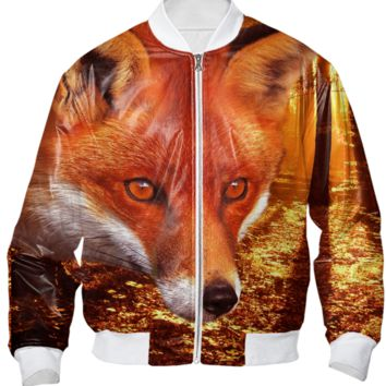 Red Fox Bomber Jacket