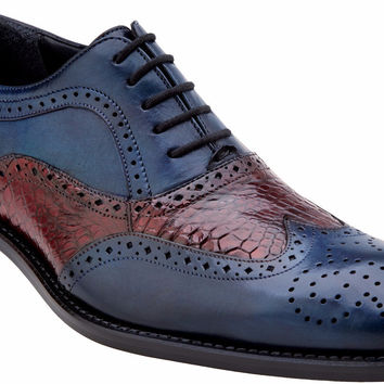 Sesto Alligator Oxford by Belvedere