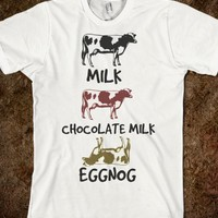 COW MILK GUIDE GRAPHIC TEE