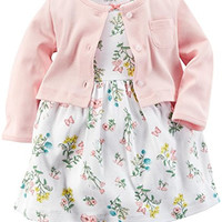 Carter's Baby Girls' 2 Piece Floral Dress Set (Baby) - Pink - 6M