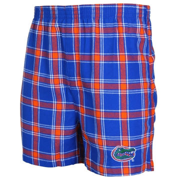 Florida Gators Acclaim Flannel Boxer Shorts – Royal Blue