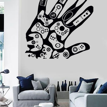 Wall Sticker Vinyl Decal Video Games Gamer Xbox Playstation Decor (z2213)