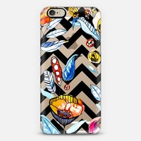 Floral Chevron iPhone 6 case by Cayena Blanca   Casetify