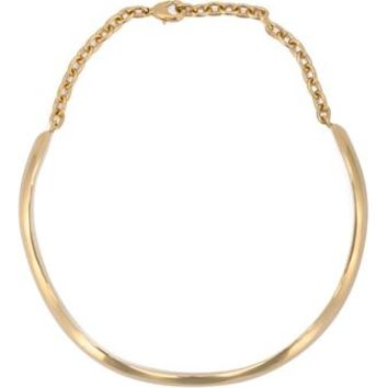 J.W.ANDERSON | Curvy Choker Necklace | Womenswear | Browns Fashion