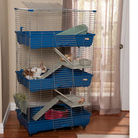Small Pet Cages & Habitats: Marchioro Tommy 120 C2 & C3 Rabbit & Guinea Pig Cages