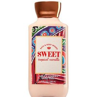Bath & Body Works SWEET TROPICAL VANILLA Body Lotion 8 oz