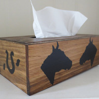 Horse tissue cover box