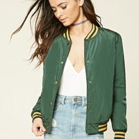Striped Varsity Jacket