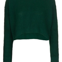 Petite Textured Grunge Jumper - New In This Week  - New In