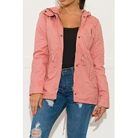 Keep Me Warm Jacket Dark Pink