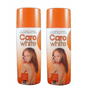 Caro White Lightening Beauty LOTION 500 Ml With Carrot Oil  Pack Of 2